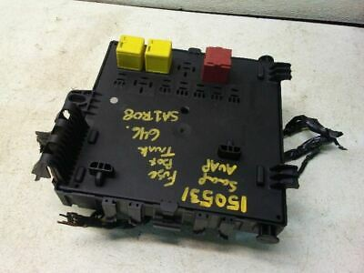 2.0L Turbo Fuse Box Trunk Mounted for 2008 Saab 9-3 3