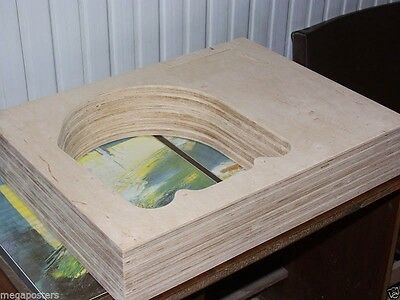 armboard Plinth for Garrard 301 12 inches