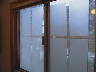 Skymex Top Quality Sticker Frosted Glass Window Film Privacy Doors