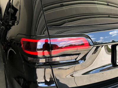 Crux Moto Tail Light Tint Overlay 20% Air Release fits Jeep Grand Cherokee 2014+ 2