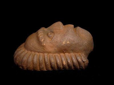 Beautiful Terracotta Post Mortem Mask Of A Roman Patrician, Replica!!! 4