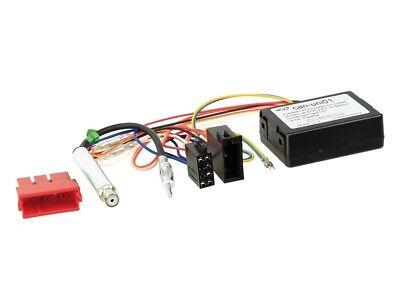 Carmedio Audi A3 8P Bose 03-06 1-DIN Autoradio Einbauset in original Plug/&Play Qualit/ät mit Antennenadapter Radioanschlusskabel Zubeh/ör und Radioblende Einbaurahmen schwarz