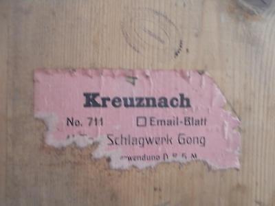 Jugendstil Freischwinger Kaiser Schlagwerk Regulator Pfeilkreuz Olbrich Wanduhr