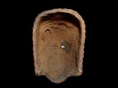 Beautiful Terracotta Post Mortem Mask Of A Roman Patrician, Replica!!! 5