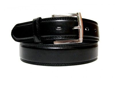 "Men's Casual Dress Jeans Genuine Leather Belt 1 1/2"" Wide M L Xl + Big Size 4"