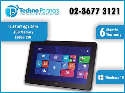 Dell Venue 11 Pro 7130 Windows 10 Tablet i5-4210Y 1.5GHz 4G 128G SSD Warranty 3