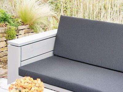 loungem bel garten set 2 inkl loungepolster wetterfestes holz douglasie eur. Black Bedroom Furniture Sets. Home Design Ideas