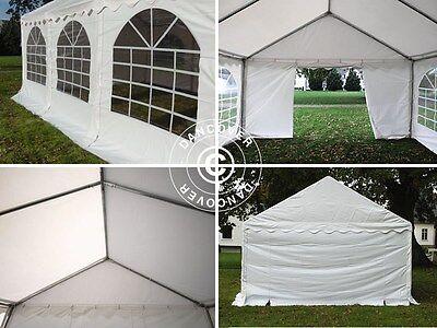 Tente de réception 3x6 m 6x3 m PVC Barnum Chapiteau de Jardin Tonnelle Festivite 2
