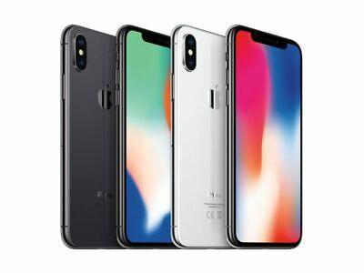 Apple iPhone X (IPhone 10) 64GB Grey Silver -All Grades - Unlocked- 12M Warranty 8