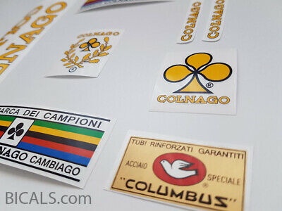 CILO SWISS gold decal set sticker complete bicycle FREE SHIPPING
