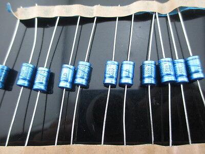 4x PHILIPS VISHAY BCCOMPONENTS 100uF 100v Axial Electrolytic Capacitors 13x31mm