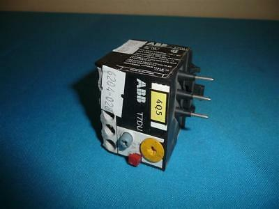 Business & Industrial ABB T7DU Thermal Overload Relay Electrical ...