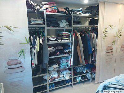 GARDEROBE SCHUHREGAL KLEIDERREGAL Kleiderschrank Schuhschrank begehbar nach  Maß