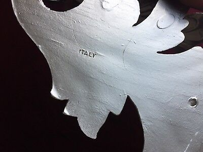 Wall Console Antique Silver Barok Corner Shelf H: 28 B :3 0 T: 23 Eck Table 8