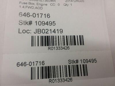 11 12 13 14 Chevrolet Cruze Under Hood Relay Fuse Box 95216200 Oem A1 10