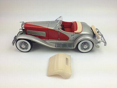 Ertl 1:18 1935 Duesenberg SSJ Diecast Model Metal Car Black RARE White Box