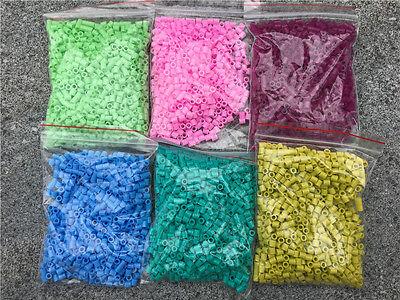 1000pcs 5mm DIY HAMA/Perler Beads Buy 3 Get 1 Free-Choose Your Favorite Colour 2