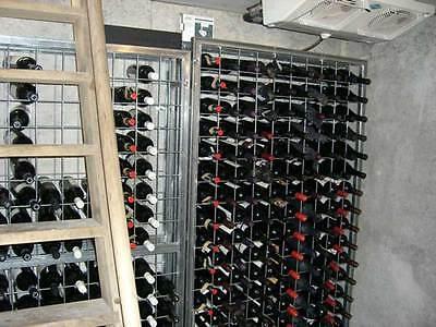 Galvanised Steel Metal Wine Storage Rack 200 Bottles 2