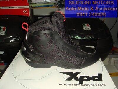 SPIDI XPD X ZERO 026 BLACK Scarpe Tecniche Moto con Protezioni COD.S74