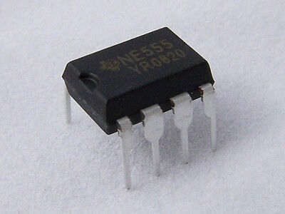 10x Timer precision Oscilador 555 NE555 NE555P DIP-8 - TIMER Electronica Arduino 2