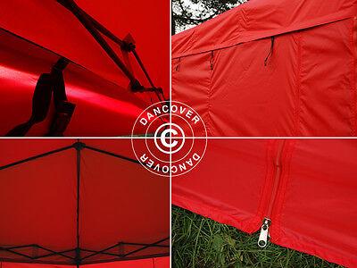 Tente Pliante Tonnelle Barnum Pliable 3x3 m Chapiteau Tente de Réception jardin 6