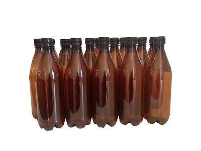 Mangrove Jack's PET Brewing Bottles & Caps(15 Pack)  - Home Brew