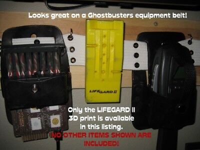 Fan-made Ghostbusters 3D printed LIFEGARD 2 -like prop WITH belt clip 6