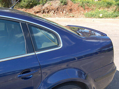 BMW M3 Style Trunk Lip Spoiler For Honda Civic 7th 01-05 Sedan Short Version