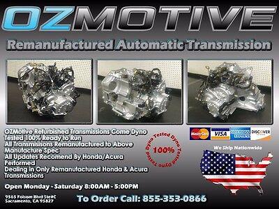 2003 2004 2005 Honda Accord V6 Remanufactured Automatic Transmission