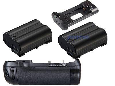 Battery Grip Pack For Nikon D600 D610 DSLR Camera + 2x EN-EL15 Battery as MB-D14
