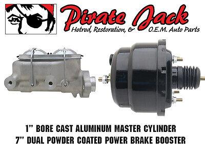 "1953-56 Ford Truck Frame Mount Pedal /& 7/"" Power Brake Booster Assembly"