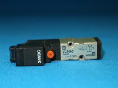 SMC VJ3140 Solenoid Valve 24VDC 9