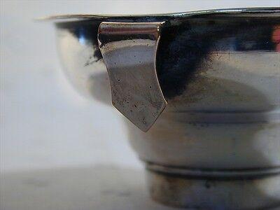 Antique Sheffield Silver Plate Wine Strainer 1.90 Oz