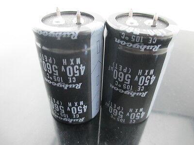 USA FREE SHIPPING 1PC 560UF 560mfd 200V Electrolytic Capacitor 105 degrees