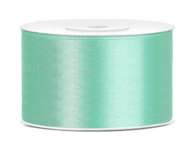 1-5m  Plain & Polka Dot * Cake Decorations Satin Ribbon Various 6~12~25~38~50mm 7