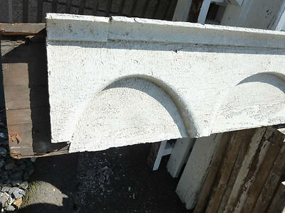 "c1870-80 VICTORIAN gingerbread PORCH header pediment 82.5 x 9.75 x 4 3/8"" 2"