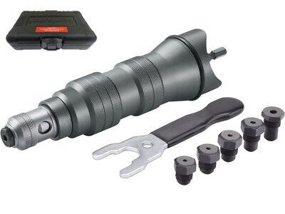 Nieten Aufsatz Nietaufsatz Nietgerät für Bohrmaschine Akkuschrauber 2,4mm-6,4mm 2