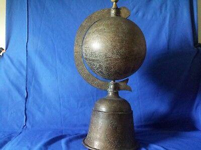 islamic globe branze h 33 inch w14 inch 2