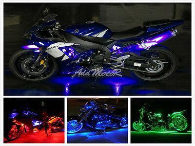 Addmotor 6 12 18 Rgb Led Light Strips Flexible Motorcycle