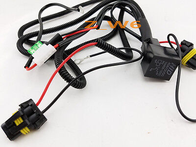 XENON HID CONVERSION Kit Relay Wiring Harness H1 H8 H9 H11 9005 9006 on relay wiring plug, 5 pin relay harness, hella relays harness, relay power harness, relay wiring guide, relay wiring kit, h13 conversion harness, relay wiring coil, bosch 5 pole relay harness, relay wiring fan, h11 relay harness, relay wiring switch,