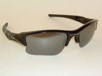 8775a99bf2ad ... New Oakley FLAK JACKET XLJ Sunglasses Black Frame 03-915 Black Iridium  Lenses 2