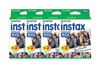 80 Prints Fuji Fujifilm Instant Wide Film for Instax 200, 210, 300 Camera 2