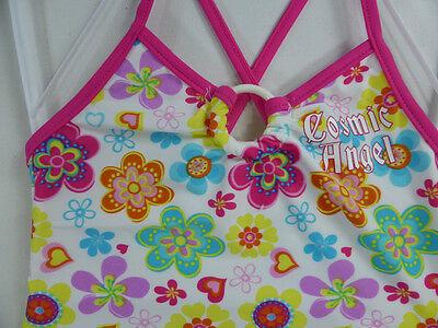 New Baby Girls Floral Swimwear Swimsuit One Piece Swim 50+ Size 0