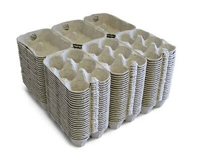 100 x NEW HALF DOZEN EGG BOXES/CARTONS FOR CHICKEN EGGS MEDIUM TO LARGE EGGS 3