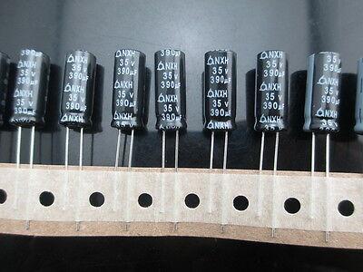 10pcs panasonic FR 390uf 35v 390mfd electrolytic Capacitor 8*20mm 105°C