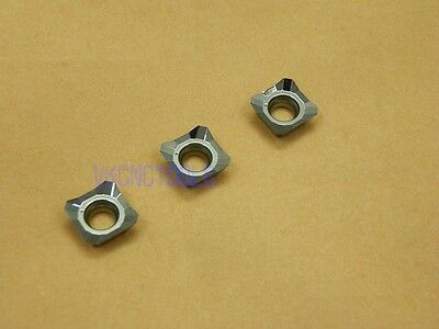 10Pcs Carbide Inserts SEHT1204//SEHT43 for Milling Aluminum/&Copper 45Deg Cutter