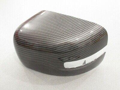 SX MIRROR CAP CALOTTE SPECCHIO JEEP RENEGADE CARBON LOOK COPPIA retrovisori DX