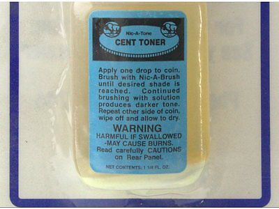 Nic-A-Tone Cent Toner Kit 1.25 oz w/Brush & Holder