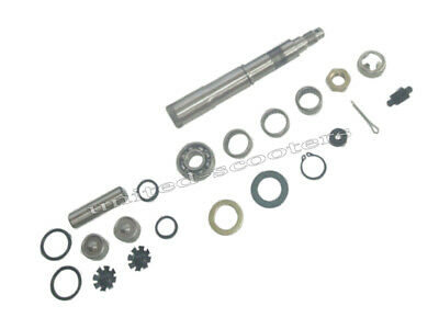 - 20mm Wheel Pivot Pin Kit VSR1T300 Piaggio Vespa Cosa 200 CLX