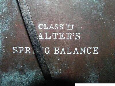 Alte Federzugwaage Salter s Spring Balance Metzgerwaage Waage 5